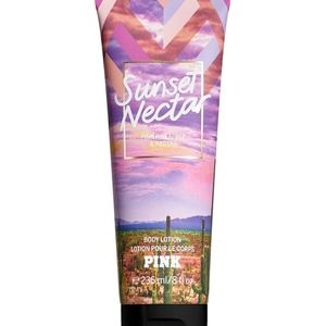 NEW!! PINK Sunset Nectar Fragrant Body Lotion